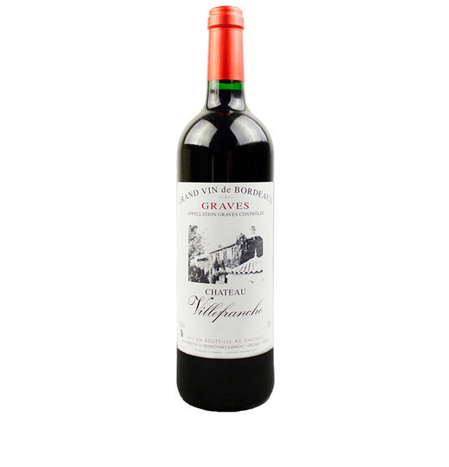 Chateau Villefranche Graves bottle