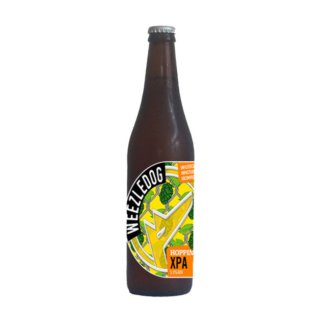 Weezledog Hoppiness XPA : Pack of 12 x 500ml Bottles