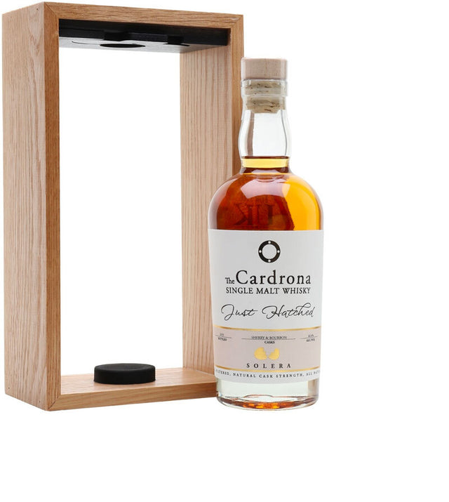 The Cardrona Just Hatched Cask Strength Solera Single Malt Whisky 375ml