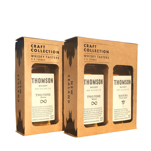 Thomson Whisky Craft Collection Mini Gift Pack - 2x100ml