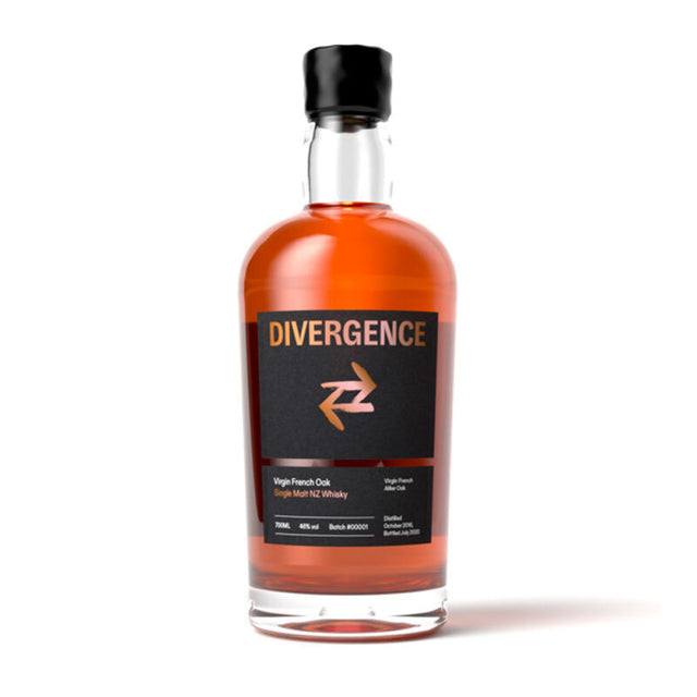 Divergence Single Malt NZ Whisky 700ml