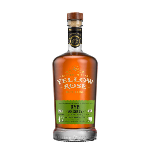Yellow Rose Rye Whiskey 700ml