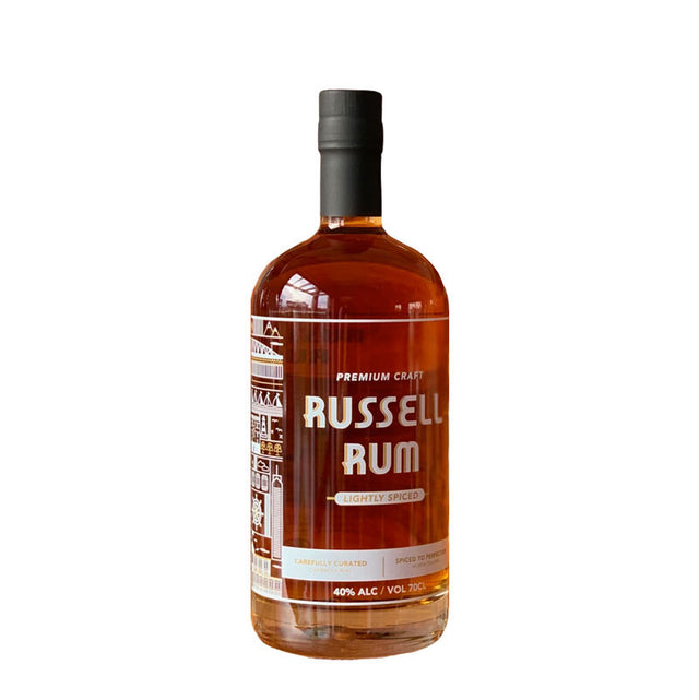 Russell Spiced Rum 700ml Glass Bottle