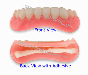 Lower Secure Smile Fake Cosmetic Teeth Veneer