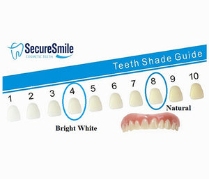 Upper Secure Smile Cosmetic Fake Teeth Veneer