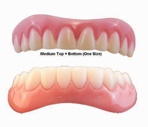 Upper & Lower Secure Smile Teeth Combo
