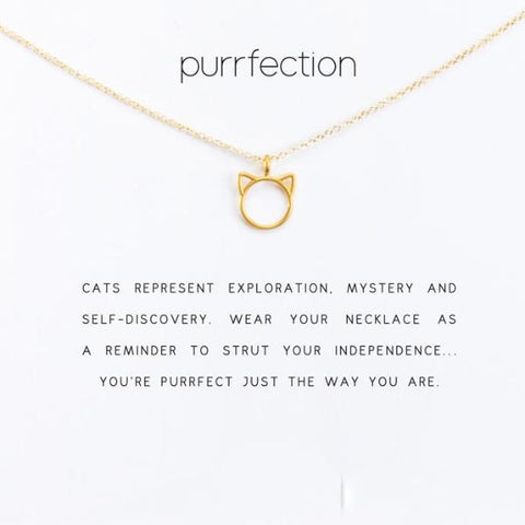 Image of Purrfection Necklace