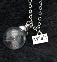"Load image into Gallery viewer, ""Make a Wish"" Dandelion Necklace - Apple & Thorne"