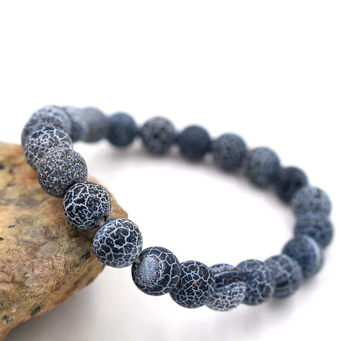 Image of Natural Lava Stone Bracelet