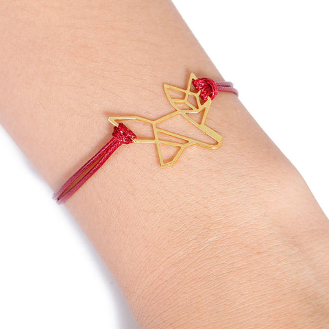 Image of Origami Animal Bracelet