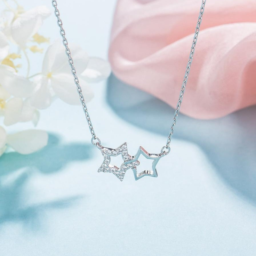 Celestial Sterling Silver Necklaces