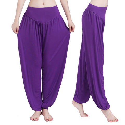 Brilliant Colored Harem Pants