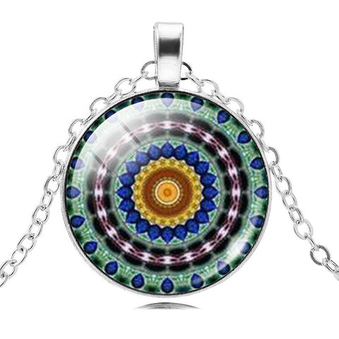 Image of Mandala Pendant Necklace