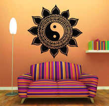 Load image into Gallery viewer, Yin & Yang Vinyl Wall Decal - Apple & Thorne