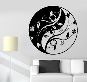 Yin & Yang Vinyl Wall Decal