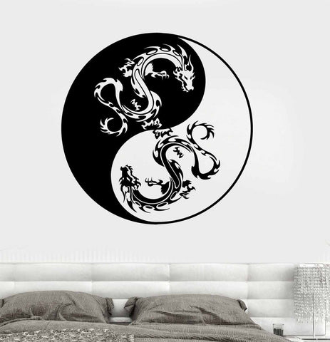 Image of Yin & Yang Vinyl Wall Decal
