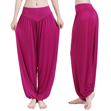 Jeweltone Harem Pants - Apple & Thorne