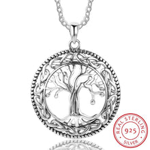 Load image into Gallery viewer, Sterling Silver Tree of Life Necklace - Apple & Thorne
