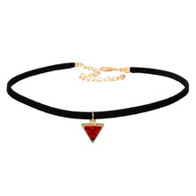 Load image into Gallery viewer, Triangular Stone Choker - Apple & Thorne