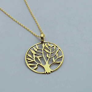 Brass Jewelry For The Spirit - Tree Of Life Pendant
