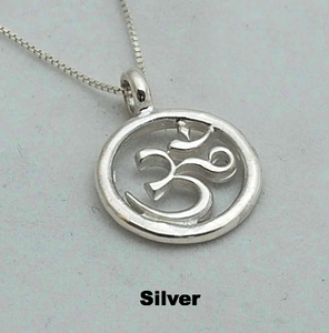 YIN Pre-Order: The Om Symbol - India Om Circle Pendant