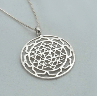 Silver Jewelry For The Spirit - Flower of Life Pendant