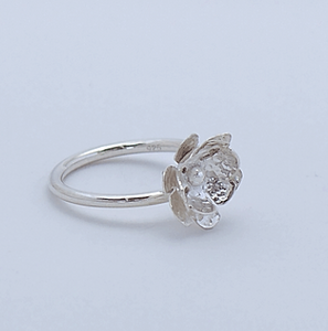 Silver Jewelry Of The Spirit - Lotus Ring