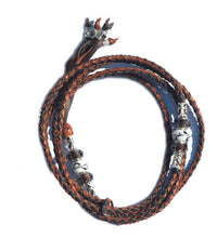 Kangaroo leather show lead in whisky & chocolate - Emoticon Kangaroo Leather Show Leads
