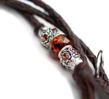 Kangaroo leather show lead in chocolate - Emoticon