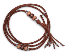 Kangaroo leather show lead in whisky - Emoticon Kangaroo Leather Show Leads