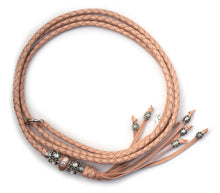 Kangaroo leather show lead in natural
