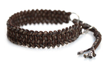 Martingale paracord collar in Walnut Brown / Brown Camo
