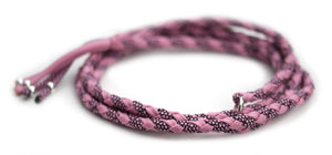 Unbrakable show lead in Lavender Pink / Rose Pink Diamonds