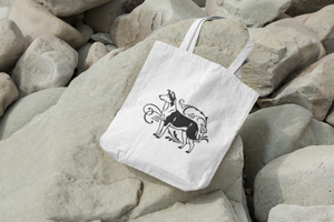 COLLIE SMOOTH tote bag