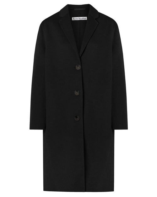 Single Breasted Wool Coat