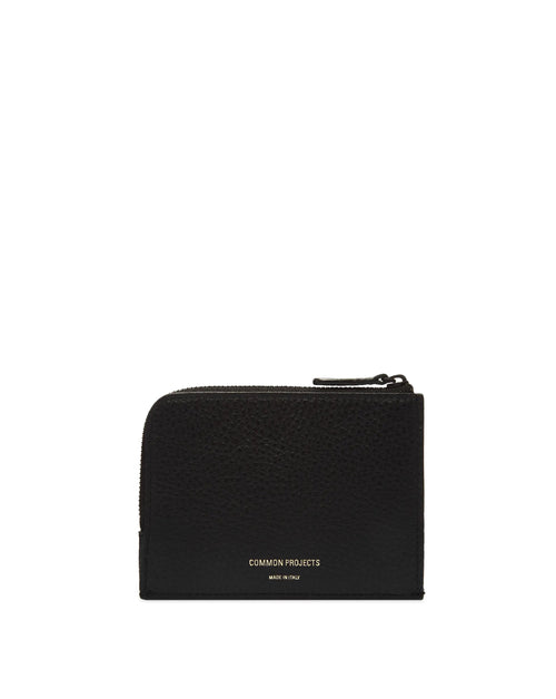 Zipper Wallet - Textured Leather