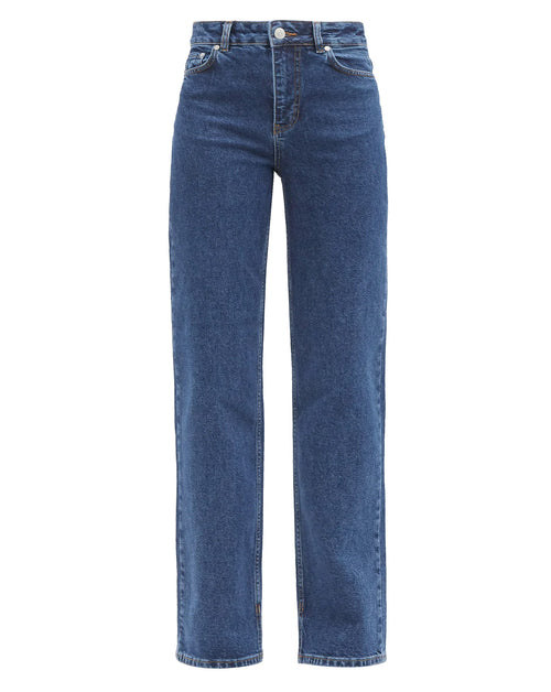 High Waisted Relaxed Fit Jean