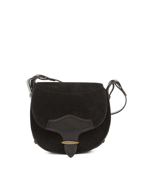 Botsy Suede Saddle Bag