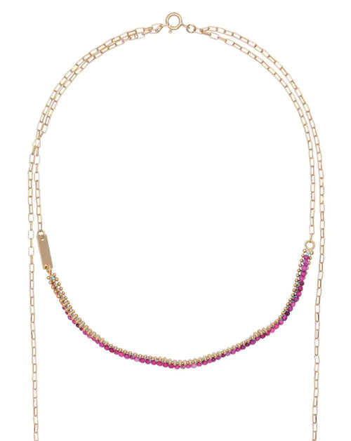 Cesaria Beaded Necklace