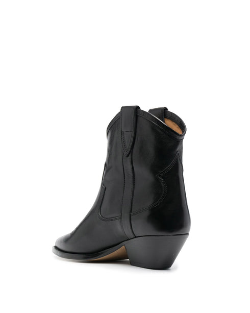 Demar Leather Ankle Boot