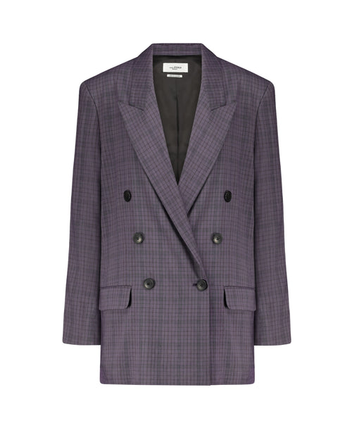 Leaganea Plaid DB Jacket