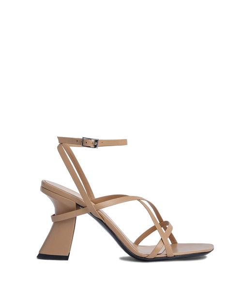 Kersti Leather High Heel Sandal