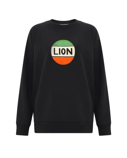 Lion Badge Flock Sweatshirt