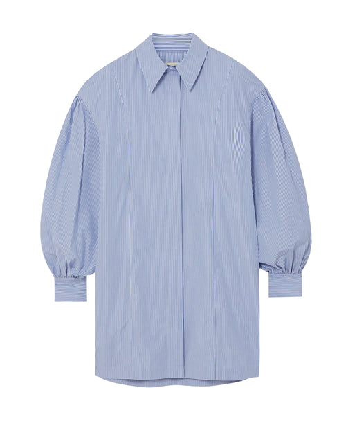 Zena Stripe Shirt Dress