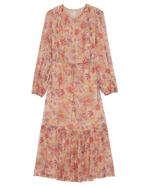 Rebecca Printed Dress - Long