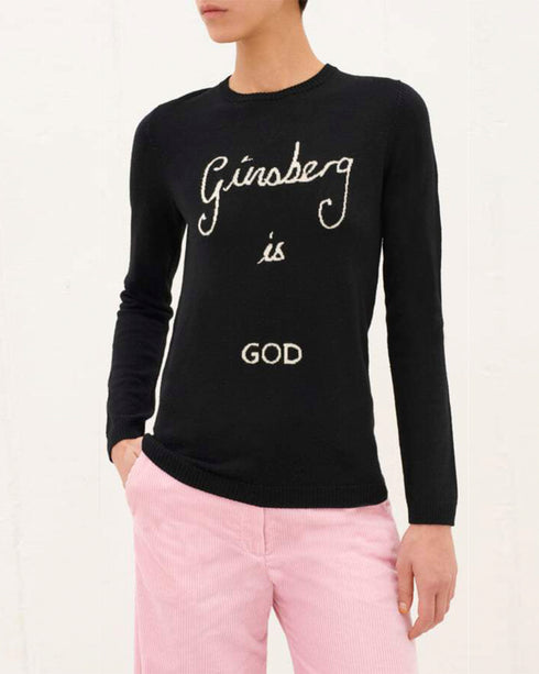 Ginsberg is God Merino Jumper