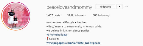 @peaceloveandmommy in collaboration with harry & pop