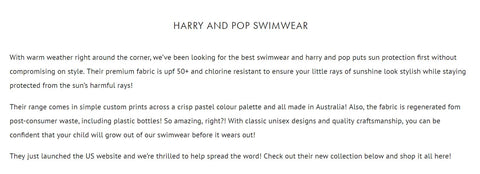 harry & pop collaboration with mini style mag