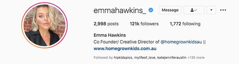 emma hawkins in collaboration with harry & pop