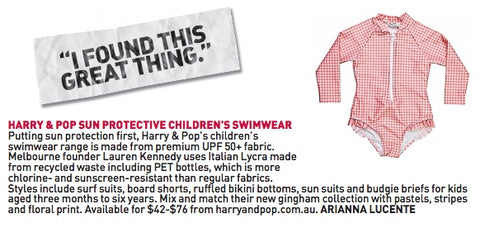 harry & pop in collaboration with The Age
